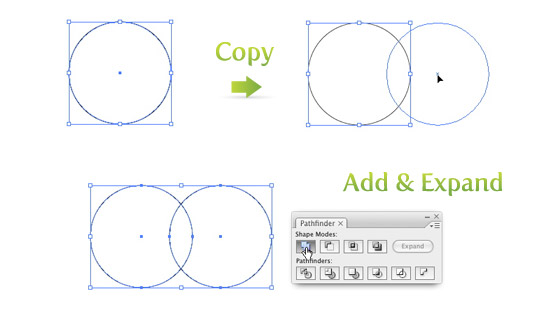 Create a Circle and Copy