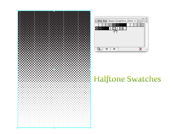 Halftones Swatches