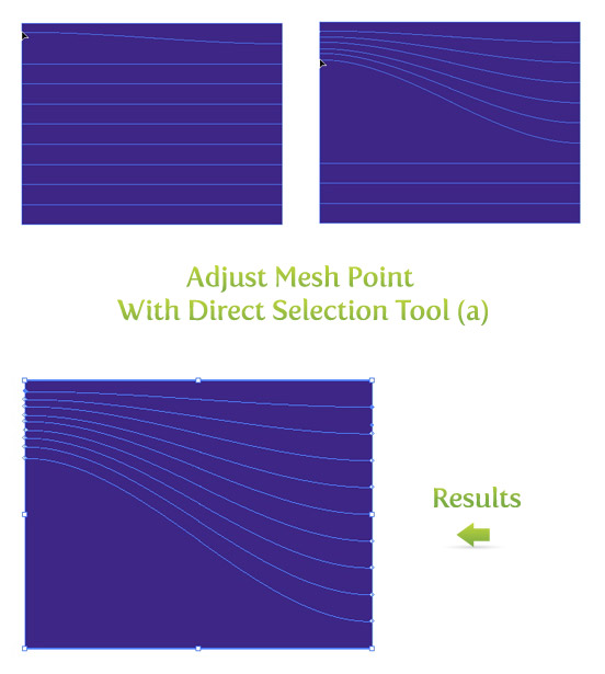 Adjust Mesh Points