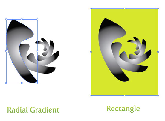 Radial Gradient and Rectangle
