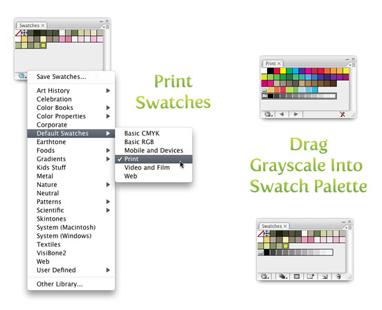 Four Ways To Convert To Grayscale Illustrator Vectips