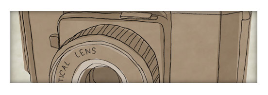 Create a Sketchy Hand-Drawn Camera Illustration in Illustrator