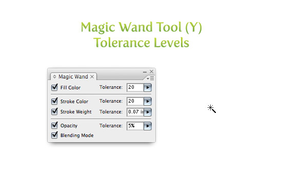 Magic Wand Tolerance Levels
