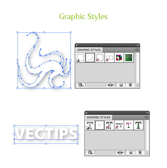 Enriched Graphic Styles Panel