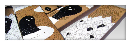 30 Cool Vector Illustrated Skateboard Decks