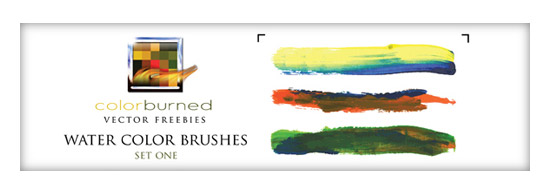 106 Delicious Water Color Illustrator Brushes