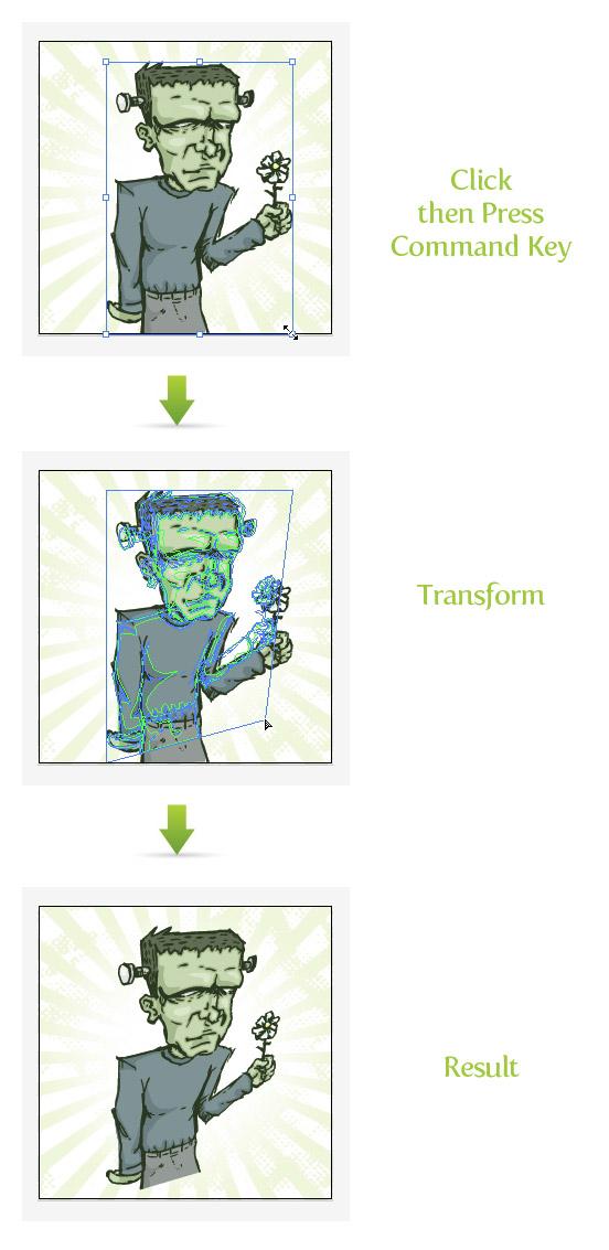 Transform Tool Trick