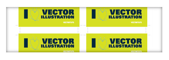 Preparing Multiple Instances of a Bumper Sticker for Print