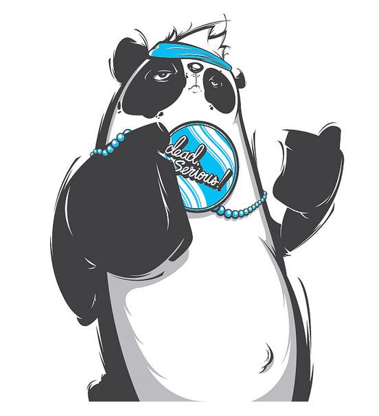 Panda Peace | Dead, Serious