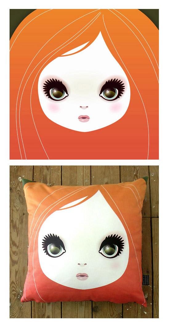 Girl Cushions