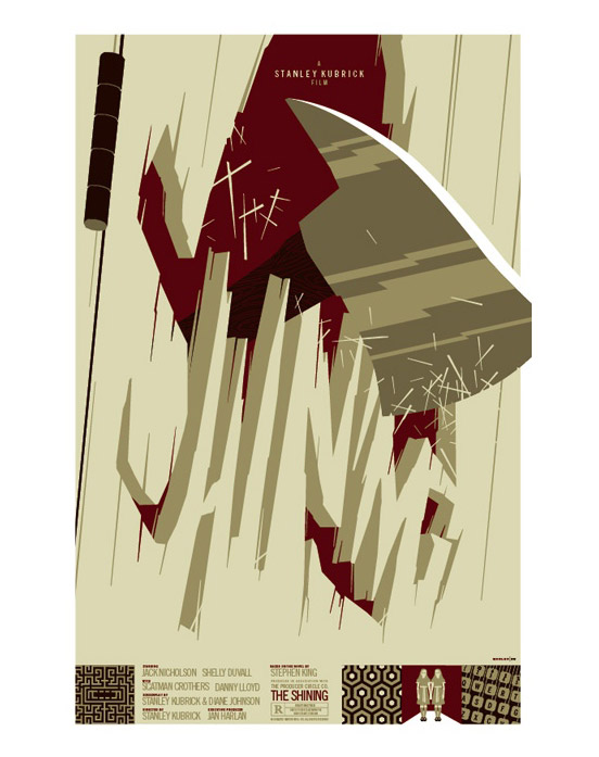 Cool Stuff: Tom Whalen's Poster Art - The Shining and The Warriors