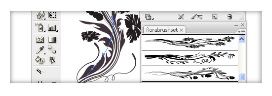 Illustrator Tip : Changing Appearence of Brushes