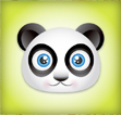 Create a Cute Panda Bear Face