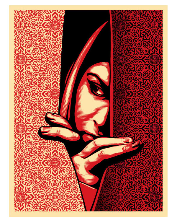 "Control By cryssy ""Israel/Palestine"" Art Print by Shepard Fairey (Onsale Info)"