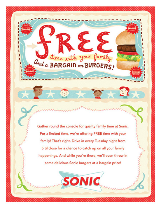 Flickr Photo Download: Sonic Drive-in Magazine Insert