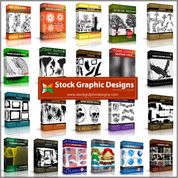 Vector Packs from Stock Graphic Designs