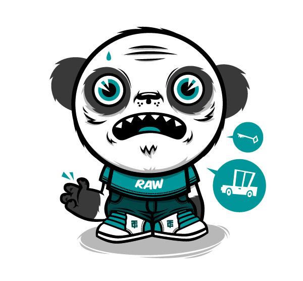 design me a panda