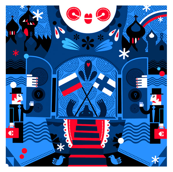 Janine Rewell: Graphic Design and Illustration