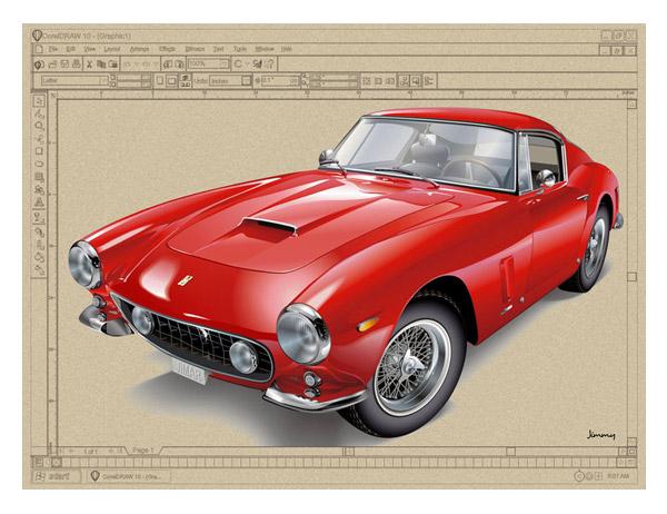 Ferrari vector by bandila