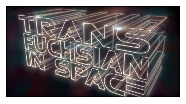 Illustrator Tutorial - 3D lighted text effect