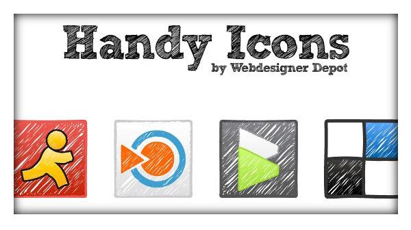 24 Free Exclusive Vector Icons: 'Handy'