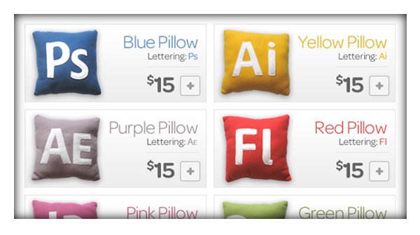 App pillows