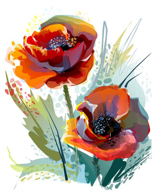 flowers by Ramonova