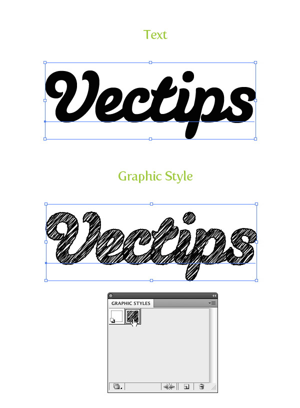 Final Image: Sketch Font Effect
