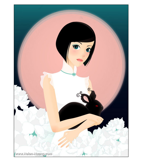 Beautiful Illustrations by Helen Huang