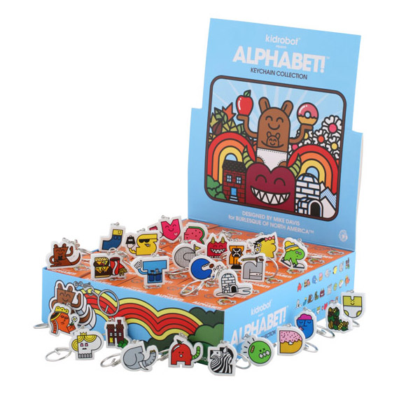 Alphabet! Keychain Collection by Mike Davis