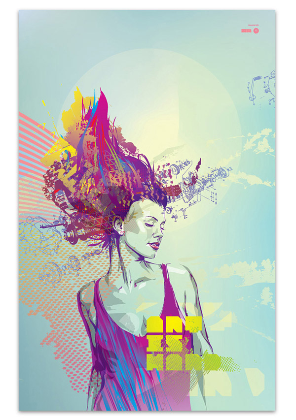 Digital art selected for the Daily Inspiration #227
