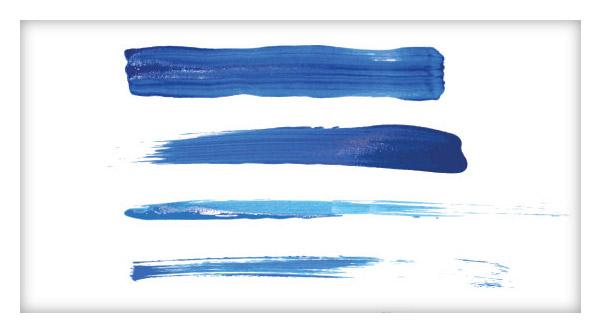 15 Paint Brushstroke Illustrator Brushes