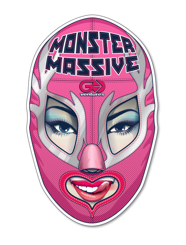 LUCHA GIRL (MONSTER MASSIVE 2008) by Shingo Shimizu