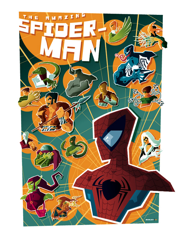 Beautiful Modern Vintage Illustrations by Tom Whalen
