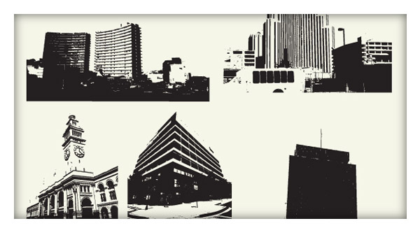 Building Vector Pack  15 Free Vectors
