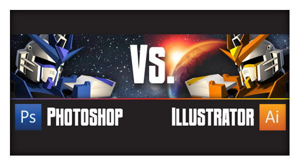 Photoshop vs. Illustrator: Part 1