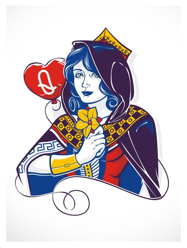Queen of Hearts by JrDragao