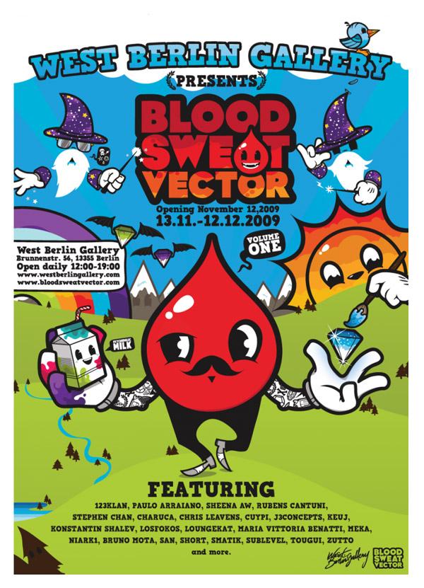 BloodSweatVector Exhibition Nov. 2009 by J3Concepts