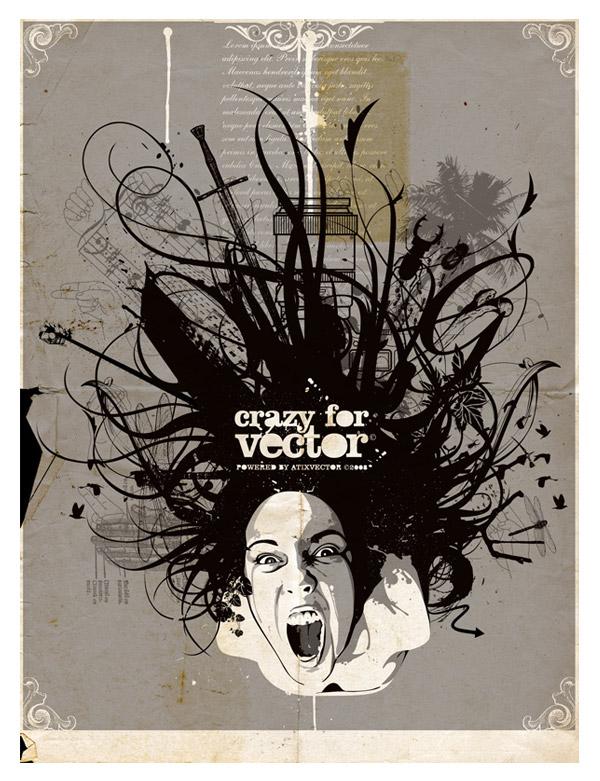 Crazy for Vector by Orlando Aquije