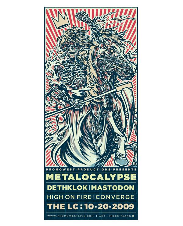 Metalocalypse by Childofthewild666