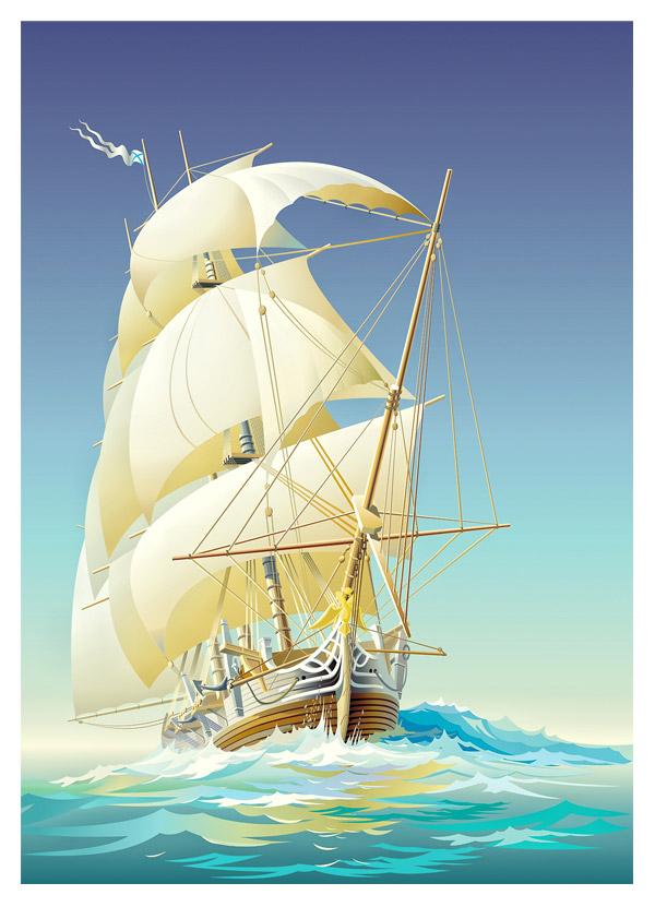 sailing by P3xelArt