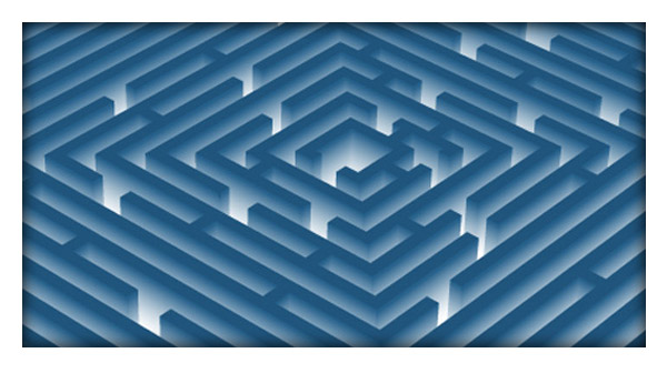 Create a 3D Vector Labyrinth