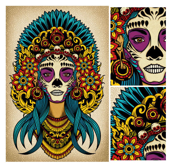 Gods & Monsters – New works by Pale Horse and Allen Hampton