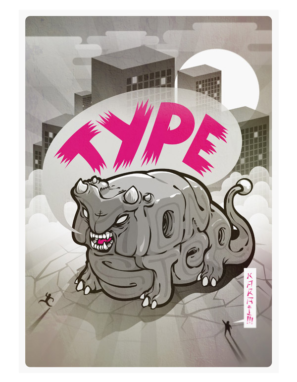 TypeMonster by Draco