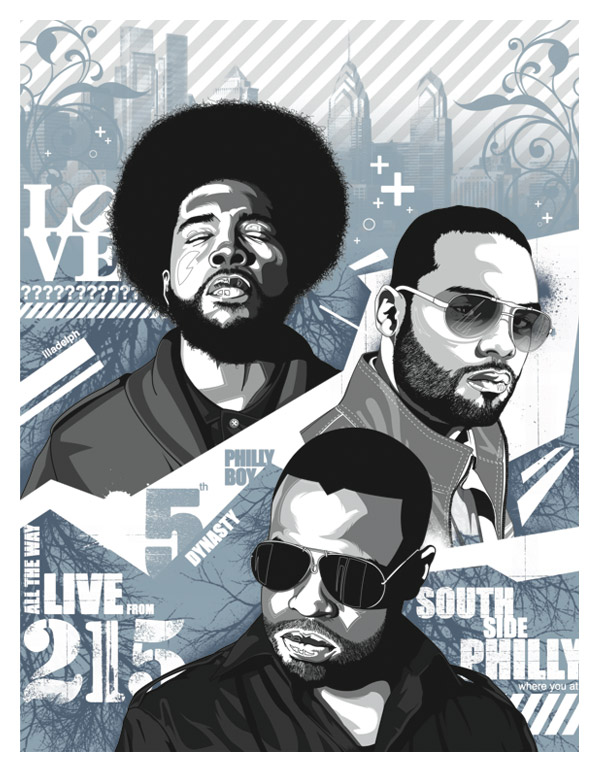 Music Illustrations pt.2 by Stephen Williams