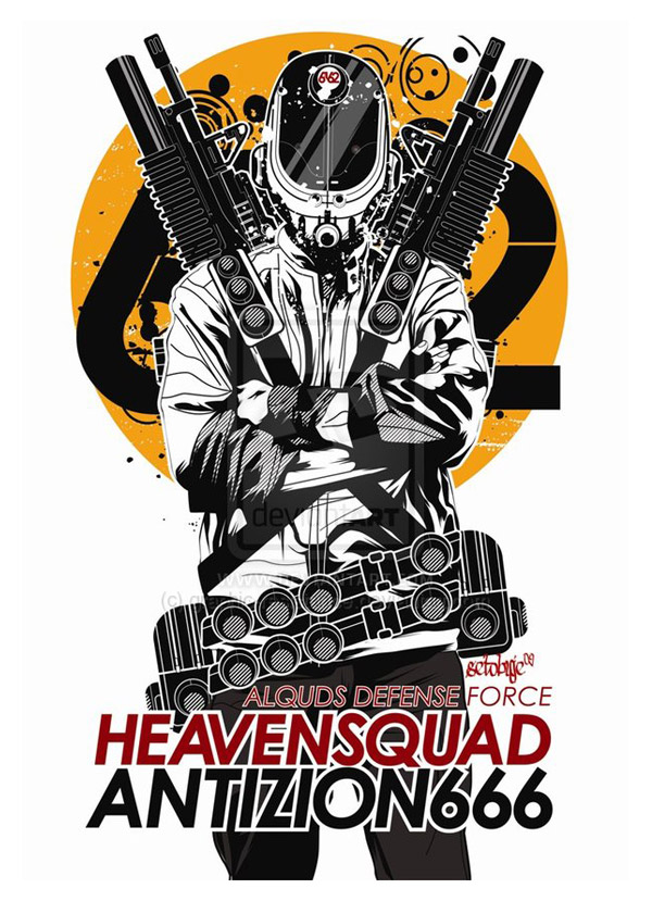 HeavenSquad by graphic-resistance