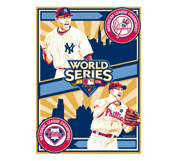 2009 World Series Prints From Sports Propaganda