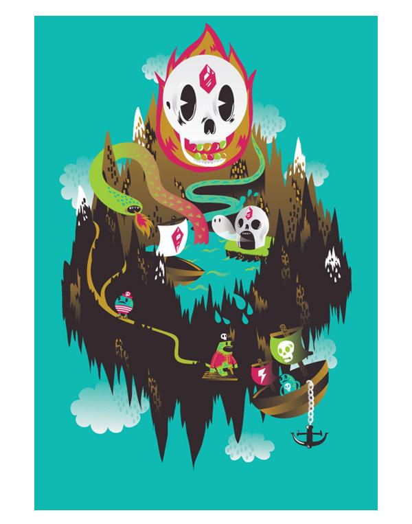dinky island by MisterISK