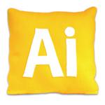 Adobe Illustrator Pillow