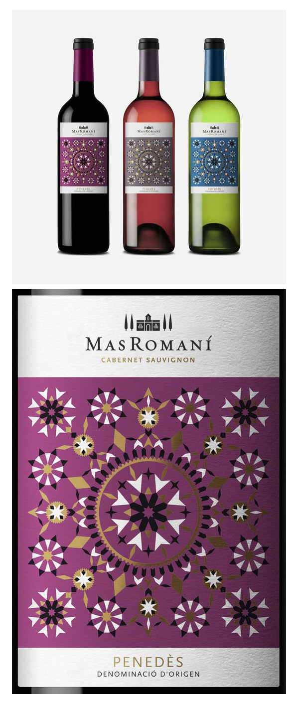 Mas Romaní Wine by Studio Copyright